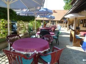 Clubheim Terrasse